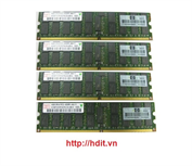 HP 8GB (4x 2GB) DDR2 PC2-4200 ECC Register Memory Kit for rx3600 rx6600 - P/N: AB565A / AH253A