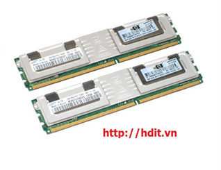 RAM Kit HP 2GB (2x1GB) PC2-5300FB DDRII ECC 240PIN Fully Buffered