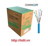 Cáp mạng AMP/ COMMSCOPE Cat6 UTP, thùng 305m / 1427254-6