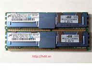 RAM HP 2GB (2x1GB) PC2-5300F (Kit) P/N: 397411-b21