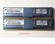 RAM HP 4GB (2x2GB) PC2-5300F (Kit) P/N: 397413-B21