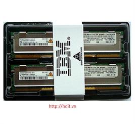 RAM IBM 2GB (2x1G) PC2-3200 REG (Kit) P/N: 73P2866