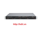 Máy chủ SuperMicro 1U X8DTL-3 ( 1x intel Xeon QC E5620 2.4Ghz, Ram 8GB, 2x HDD 250GB, PS 350watt)