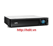 Bộ lưu điện APC Smart-UPS C 1000VA 2U Rack mountable LCD 230V - SMC1000I-2U