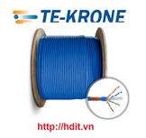 Cáp mạng TE-Krone Cat 7 SFTP, thùng 305m (COMMSCOPPER)
