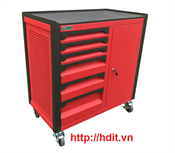 Tủ dụng cụ 8 ngăn kèm hộc có khóa N1T1RD8