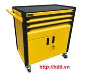 Tủ dụng cụ 3 ngăn kèm hộc đôi bên dưới có khóa N2T1RD3 (Vàng)