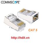 Hạt mang AMP/COMMSCOPE Cat5, bọc kim loại, chống nhiễu