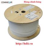 Cáp Mạng COMMSCOPE F/UTP, Cat.6A, 4 đôi, LSZH, 23 AWG, Solid, màu trắng, 305m/ 884024508/10