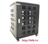 Tủ Rack/ Cabinet 15U-D800, Cao Cấp - SR15.6080.10 ( Cánh Lưới)