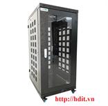 Tủ Rack/ Cabinet 24U-D600 Cao Cấp - SR24.6060.01 ( Cánh Mica)