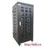 Tủ Rack/ Cabinet 24U-D800 Cao Cấp - SR24.6080.10 ( Cánh Lưới)