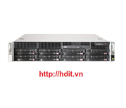 Máy chủ SuperMicro 2U X8DTL-3 ( 2x intel Xeon QC E5506 2.13Ghz, Ram 16GB, 2x HDD 500GB, PS 400watt)