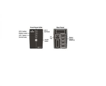 HDIT PSA600-BX 600VA / 360W