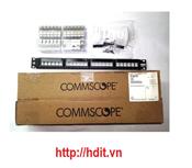 Patch Panel AMP/COMMSCOPE CAT6A 24 port chống nhiễu (1933319-2)