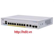 Thiết bị chuyển mạch Cisco CBS250 Smart 8-port GE, Ext PS, 2x1G Combo - CBS250-8T-E-2G-EU