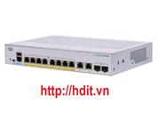 Thiết bị chuyển mạch CBS250 Smart 8-port GE, PoE, Ext PS, 2x1G Combo - CBS250-8P-E-2G-EU