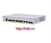 Thiết bị chuyển mạch CBS350 Managed 8-port GE, PoE, Ext PS, 2x1G Combo - CBS350-8P-E-2G-EU
