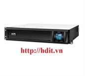 Bộ lưu điện UPS APC Smart-UPS C 1000VA 2U Rack mountable LCD 230V with SmartConnect - SMC1000I-2UC