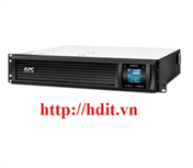 Bộ lưu điện UPS APC Smart-UPS C 3000VA Rack mount LCD 230V - SMC3000RMI2U