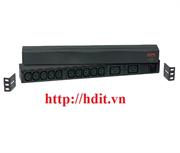 Thanh nguồn APC Rack PDU,Basic, 1U, 16A,208&230V, (10)C13 & (2)C19 - AP9559