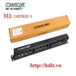Thanh quản lý cáp ngang AMP/ COMMSCOPE 1U dạng hộp, chuẩn 19