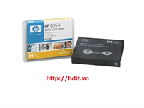 HP DDS-4 Data Cartridge, 40 GB, 150m  (20/40GB) - P/N: C5718A