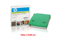 HP LTO4 Ultrium 1.6TB WORM Data Tape Cartridge - P/N: C7974W