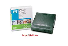 HP Super DLT I 110/220GB, 160/320GB Data Tape Cartridge for SDLT 220/320 Drives - P/N: C7980A